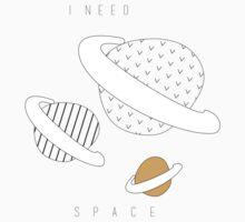 I need MORE space Kids Tee