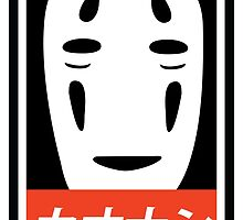 No Face - Spirited Away // Obey Parody by TheCSimmons
