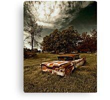 Abandoned Edsel Canvas Print