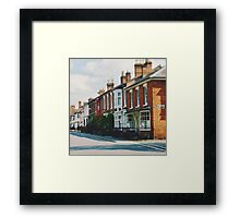 Stratford-upon-Avon Houses Framed Print