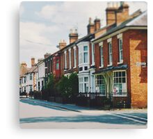 Stratford-upon-Avon Houses Canvas Print