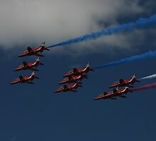 Red Arrows by Dodgygeeza