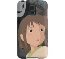 """Don't be such a scaredy cat, Chihiro"" - Spirited Away Art Samsung Galaxy Case/Skin"