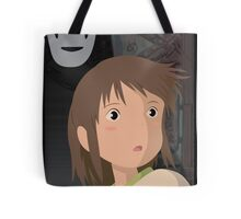 """""""Don't be such a scaredy cat, Chihiro"""" - Spirited Away Art Tote Bag"""
