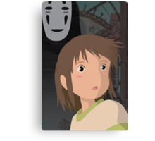 """""""Don't be such a scaredy cat, Chihiro"""" - Spirited Away Art Canvas Print"""