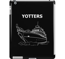 Yotters, Otters on a boat, in White iPad Case/Skin