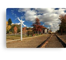The Susanville Train Depot Canvas Print