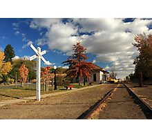 The Susanville Train Depot Photographic Print