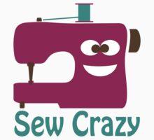 Sew Crazy One Piece - Short Sleeve