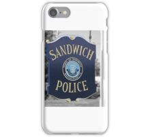 A town deserving respect iPhone Case/Skin