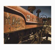 Abandoned Farmall Tractor Kids Tee
