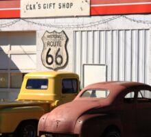 Route 66 Shop Sticker
