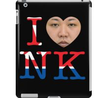 I love North Korea iPad Case/Skin