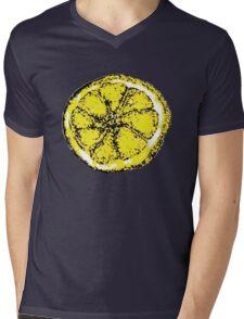 Lemon (Stone Roses inspired design) Mens V-Neck T-Shirt