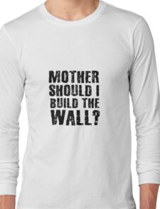 the wall pink floyd rock lyrics inspirational rebel hippie anti-system rocker hippie t shirts Long Sleeve T-Shirt