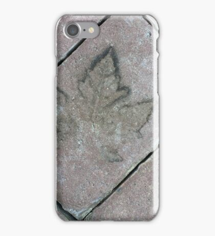 Autum Leaf Impression   If you like, please purchase an item, thanks iPhone Case/Skin