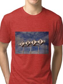 Route 66 Cafe Tri-blend T-Shirt