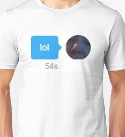"Scorch Horse ""lol"" Sent Unisex T-Shirt"