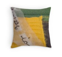 Letters from Portugal series (Escondida) Throw Pillow