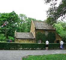 Captain Cook's cottage, Melbourne by Maggie Hegarty