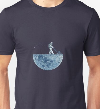 amstrong and the moon Unisex T-Shirt