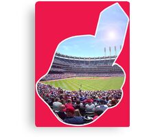 Chief Wahoo - Progressive Field Canvas Print