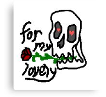 love skelly Canvas Print
