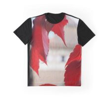 Autumn Red Graphic T-Shirt