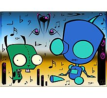 Invader zim Photographic Print