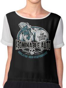Abominable Auto Chiffon Top