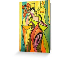 The Actress....please read description.... Greeting Card