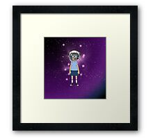 Space Tina Framed Print