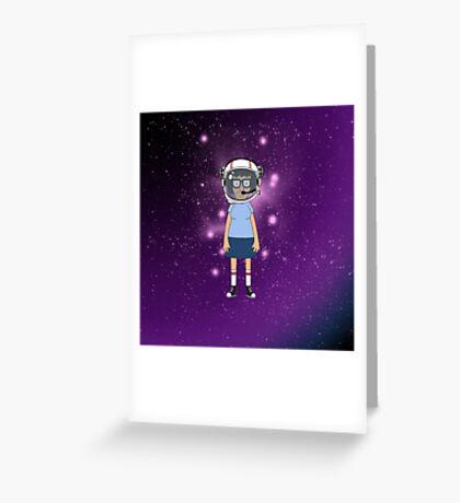 Space Tina Greeting Card