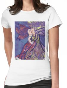 Lovers in the Murder Womens Fitted T-Shirt