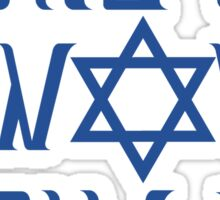 This Is How We Jew It Sticker
