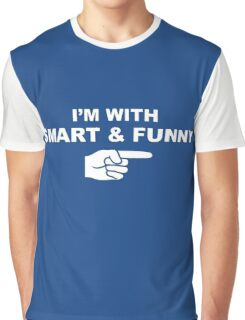 My girlfriend is smart & funny Graphic T-Shirt