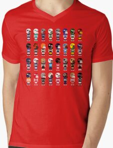 8-Bit FOOTBALL!!! Mens V-Neck T-Shirt