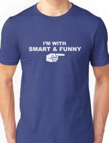 My girlfriend is smart & funny Unisex T-Shirt