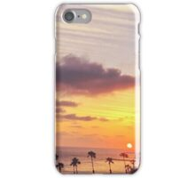Oceanside Sunset View from the Deck iPhone Case/Skin