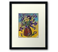Floodwood Flowers Framed Print