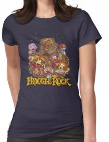 Fraggle Rock Retro Womens Fitted T-Shirt