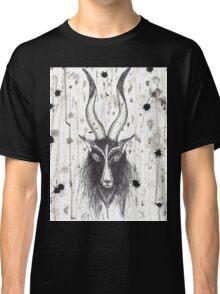 Baphomet Goat Splatter  Classic T-Shirt
