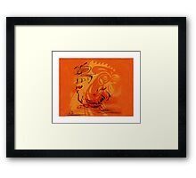 Chinese Zodiac Rooster Framed Print
