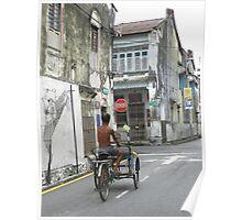 Love Lane Penang Malaysia Poster