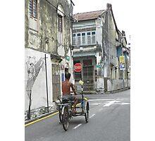 Love Lane Penang Malaysia Photographic Print
