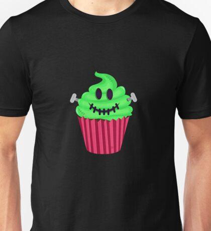Frankenstein Cupcake Unisex T-Shirt