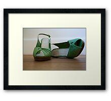 Day 22 - Green Framed Print