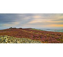 Distant Hills Photographic Print
