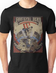 Grateful Dead - American Skeleton 50yr Unisex T-Shirt