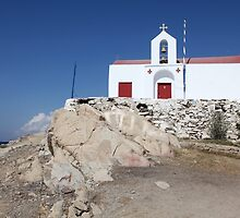 ... the Tourist Church in Mykonos - Greece.... by John44